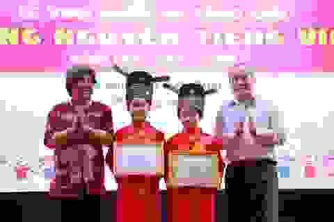 """Học sinh Hà Nội và Bắc Ninh giành ngôi vị """"Trạng nguyên Tiếng Việt"""" toàn quốc 2018"""