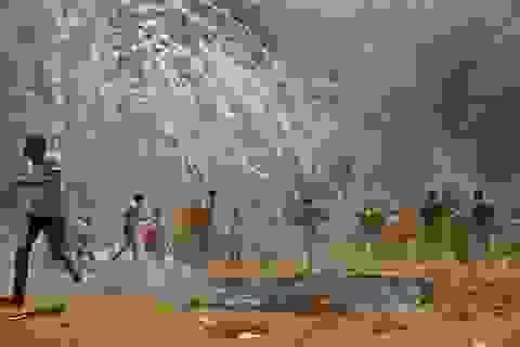 Bạo loạn trước giờ Mỹ mở đại sứ quán ở Jerusalem, 37 người Palestine thiệt mạng