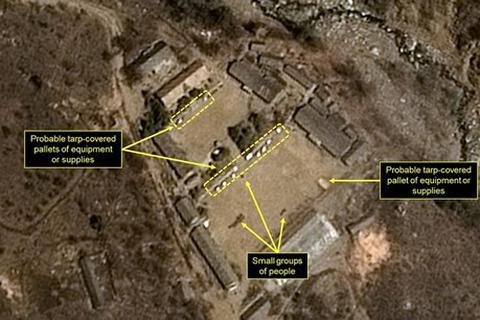 Triều Tiên bắt đầu tháo dỡ bãi thử hạt nhân