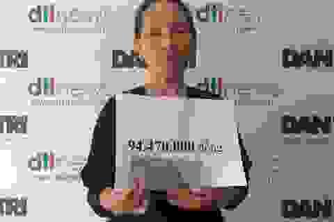 Hơn 94 triệu đồng đến với bé Chung mồ côi bố mẹ