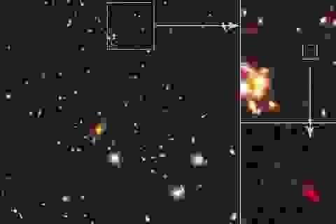 Những ngôi sao sinh ra chỉ 250 triệu năm sau vụ nổ Big Bang