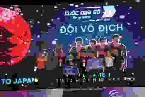 ĐH Công Nghệ, ĐH Quốc gia Hà Nội vô địch tại Chung kết Cuộc đua số