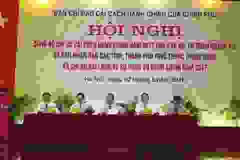 """Ủy ban Dân tộc, tỉnh Quảng Ngãi đứng """"bét"""" về cải cách hành chính"""