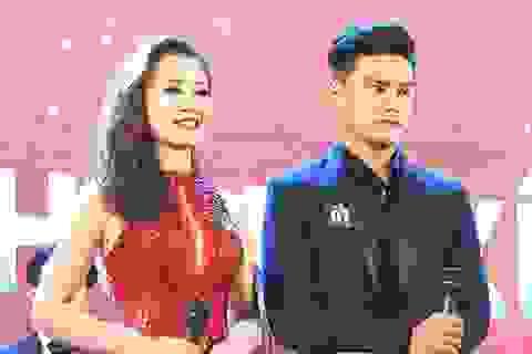 Cặp trai tài gái sắc đăng quang Nam vương và Hoa khôi HV Tài chính