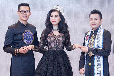Nữ Hoàng Trần Huyền Nhung quyền quý ngồi ghế nóng bán kết hoa hậu và nam vương doanh nhân thế giới