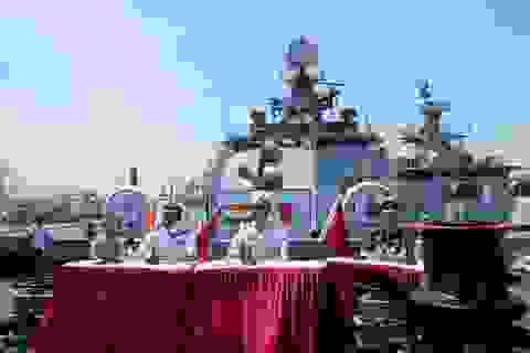 Tàu khu trục Hải quân Ấn Độ đến thăm Đà Nẵng