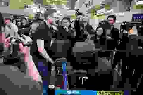 """Truyền thông quốc tế đổ về Triều Tiên trước """"giờ G"""""""