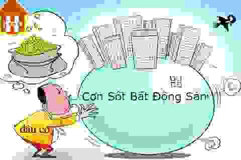 """Chuyên gia kinh tế: Chưa phải quá lo với """"bong bóng"""" bất động sản"""