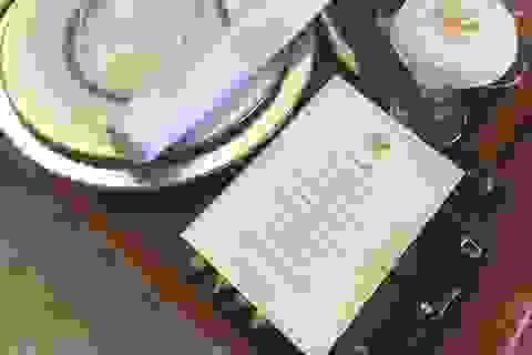 Lộ thực đơn ông Putin thết đãi Tổng thống Pháp