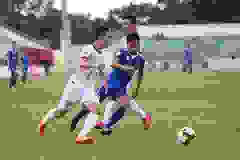 Hà Minh Tuấn lập hattrick giúp Quảng Nam đè bẹp Nam Định