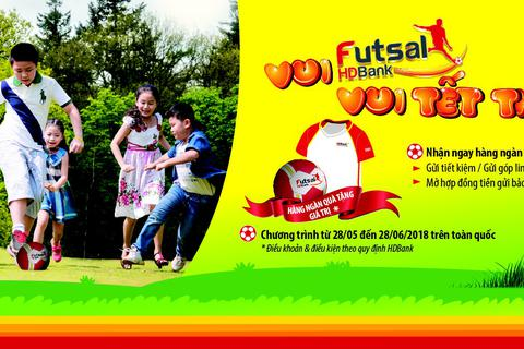 Vui HDBank Futsal – Vui Tết thiếu nhi