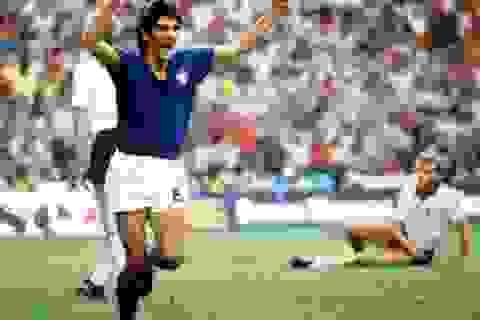 """Lịch sử World Cup 1982: Người hùng """"rũ bùn đứng dậy"""" Paolo Rossi"""
