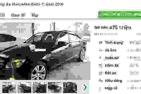 Những chiếc ô tô Mercedes cũ này đang bán tầm giá 400 triệu đồng tại Việt Nam