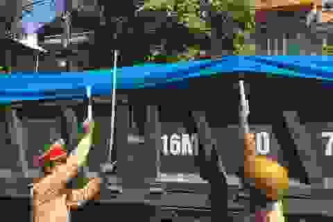 Bắc Giang: CSGT ra quân truy bắt xe quá khổ, quá tải trên các cung đường!