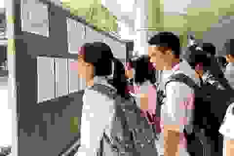 Đề Toán vào lớp 10 chuyên ĐH Sư phạm: Đề khó, thí sinh đạt 5- 6 điểm là phổ biến