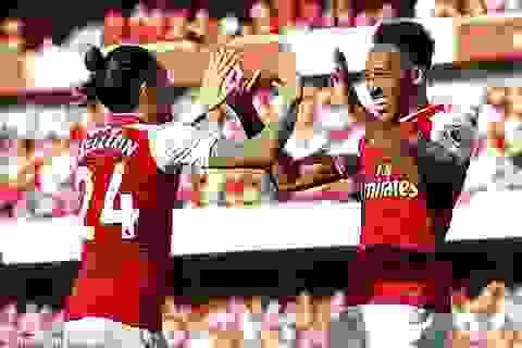 """Arsenal 5-0 Burnley: """"Quà đẹp"""" tiễn Wenger"""