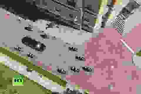 Tổng thống Putin đi siêu xe mới trong lễ nhậm chức