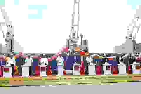 """Cảng Quy Nhơn lần đầu tiên đón tàu """"khủng"""" nhất 63 nghìn tấn"""