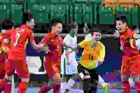 Đội tuyển futsal nữ Việt Nam vào bán kết giải châu Á 2018