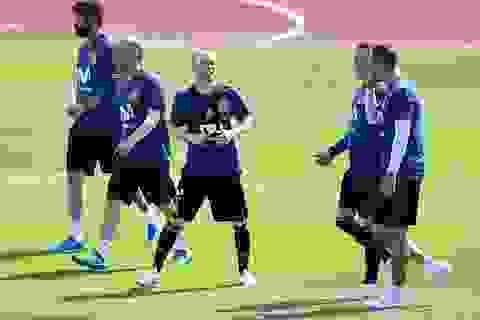 Dàn sao Tây Ban Nha thư giãn trước cuộc đấu với Thụy Sỹ