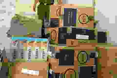 Bắt giữ 55 nghìn bao thuốc lá ngoại nhập lậu tại Quảng Ninh
