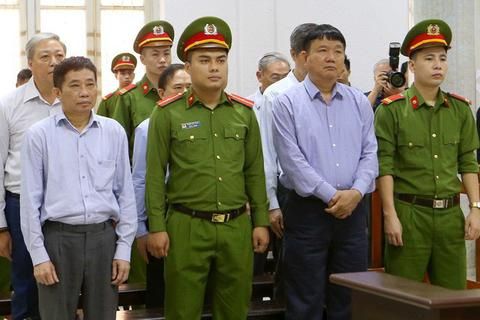 Ngày 19/6, ông Đinh La Thăng hầu tòa phiên phúc thẩm vụ góp vốn vào Oceanbank