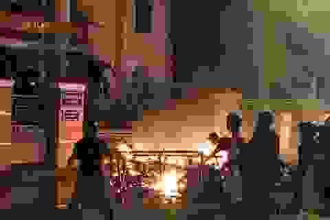 Bắt đối tượng nghi cho tiền để kích động đám đông gây rối ở Bình Thuận