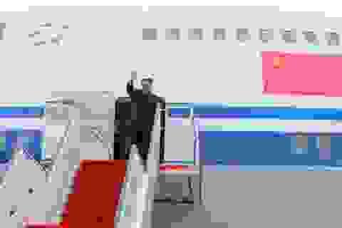 """""""Ông Kim Jong-un mượn máy bay của Thủ tướng Trung Quốc tới Singapore"""""""
