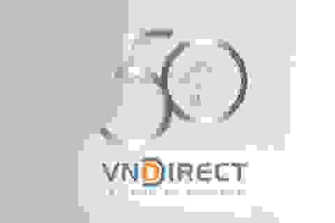 Chứng khoán VNDIRECT lọt vào Top 50 công ty kinh doanh hiệu quả nhất Việt Nam 2017