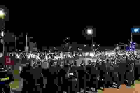 Nhiều người tiếp tục tụ tập gây rối ở Bình Thuận