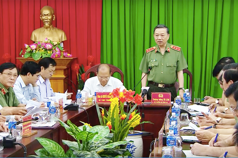 Bộ trưởng Công an đến Bình Thuận chỉ đạo xử lý vụ gây rối