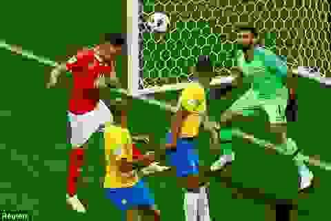 Tranh cãi gay gắt về bàn thắng khiến Brazil ôm hận