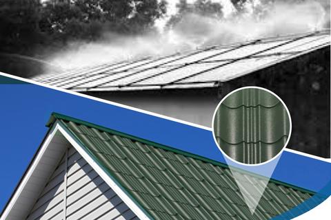 Giải pháp chống nóng cho mái tôn hiệu quả