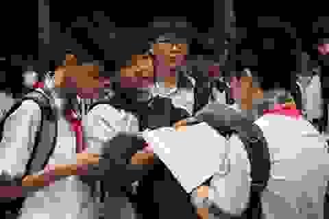 Đề Văn, đề Toán vào lớp 10 chuyên của TPHCM