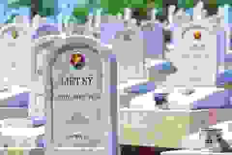 Hết tháng 5/2018: Hơn 51.900 bia mộ liệt sĩ vô danh cần khắc lại tên