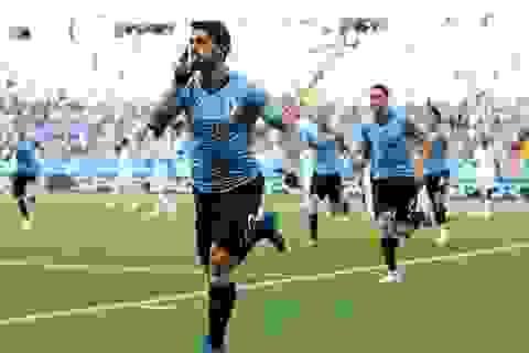 Uruguay 1-0 Ả Rập Xê Út: Suarez lập công đầu