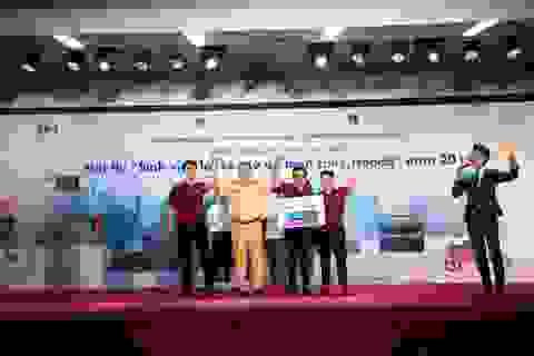 Đại học Bách khoa Hà Nội đạt giải nhất cuộc thi sinh viên lái xe ô tô an toàn
