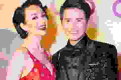 Hoa hậu Ngọc Diễm nóng bỏng khoe thềm ngực đầy bên MC Vũ Mạnh Cường