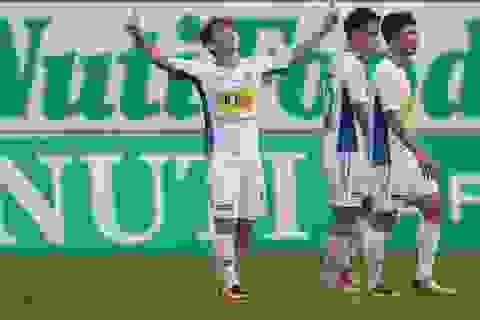 Công Phượng và Văn Toàn cùng ghi bàn, HA Gia Lai thắng đậm Than Quảng Ninh