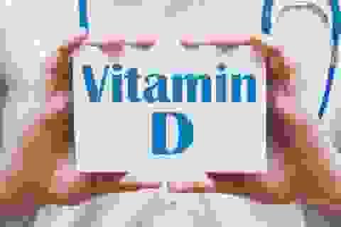 Hàm lượng vitamin D thấp liên quan tới bệnh phổi