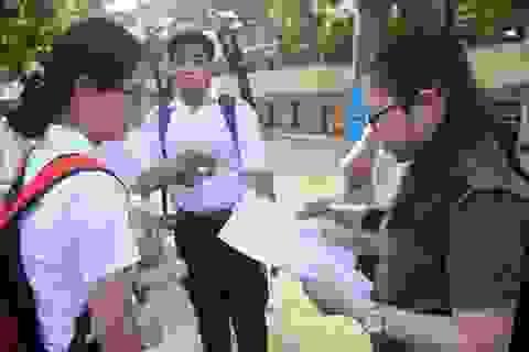 THPT quốc gia 2018: Đề thi Vật lí và Hoá học có nhiều bài tính phức tạp