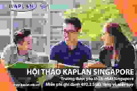 Hội thảo: Định hướng tương lai cùng Học viện Kaplan Singapore