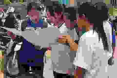 Môn Hóa THPT quốc gia: Phải học lực giỏi may ra mới đạt 8 điểm