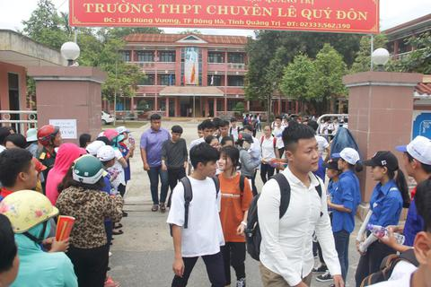 Quảng Trị: Tỉ lệ tốt nghiệp đạt 94,75%