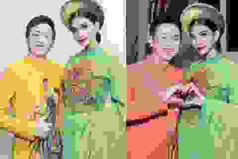 Trương Thị May đẹp say đắm bên danh hài Hoài Linh, Chí Tài