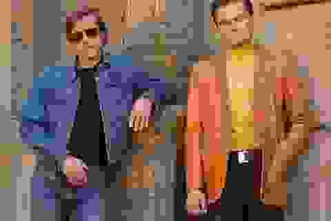 Diện mạo Leonardo DiCaprio và Brad Pitt khi đóng phim chung