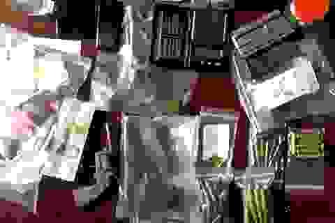 Phát hiện 3 khẩu súng trong nhà kẻ bán ma túy