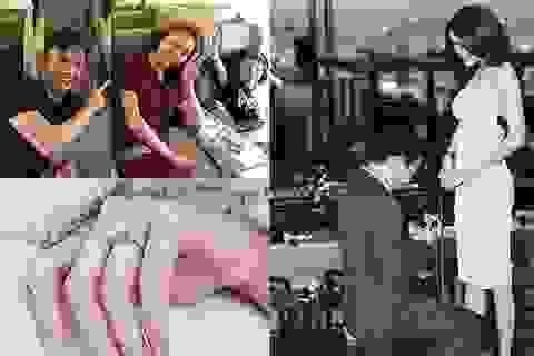 Lan Khuê khoe nhẫn đính hôn kim cương; Đàm Thu Trang du lịch cùng Cường Đô La