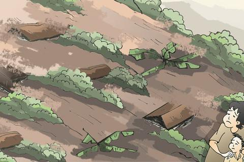 """""""Dinh thự """"đẳng cấp"""" ghế bàn – Bản làng lũ lụt hoang tàn, dân ơi!"""""""
