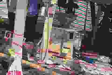 Nổ máy xay xát, 2 người tử vong tại chỗ